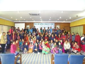 16th Annual general assembly of Shakti Samuha has been conducted in Kathmandu.
